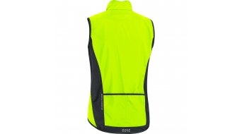 GORE Wear C3 GORE® WINDSTOPPER® Light Weste Herren Gr. S neon yellow/black