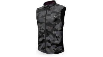 Loose Riders Charcoal Camo Technical gilet da uomo . grigio/nero