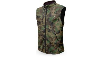 Loose Riders Forest Camo Technical gilet da uomo . verde/marrone