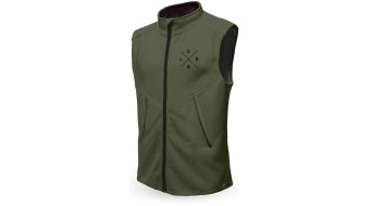 Loose Riders Olive Technical vest men dark green