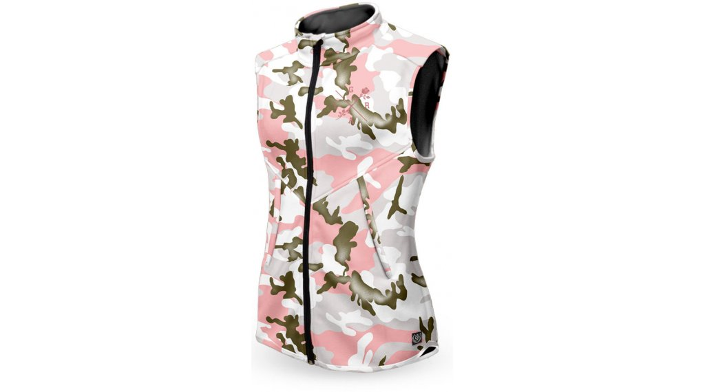 Loose Riders Forest Pink Camo Technical vest ladies size S pink