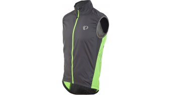 Pearl Izumi Elite Barrier chaleco Caballeros-chaleco bici carretera smoked pearl/screaming verde