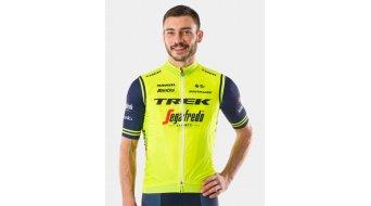 Santini Trek-Segafredo Team Windshell Windweste Gr. L radioactive yellow