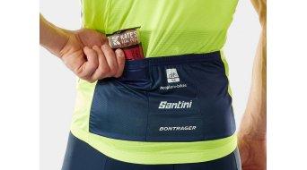Santini Trek-Segafredo Team Wind vest men size XS yellow