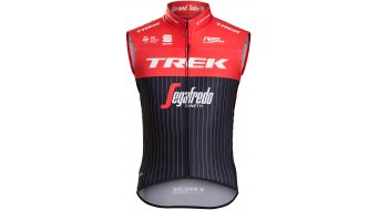 Sportful Trek-Segafredo Pro Race Wind Weste Herren-Weste black/red