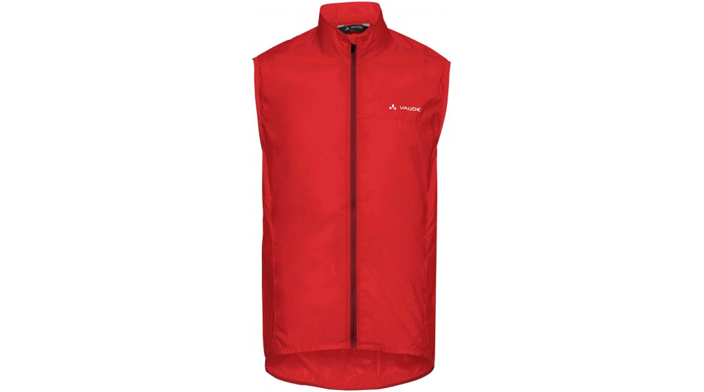 VAUDE Air III vest men size S mars red