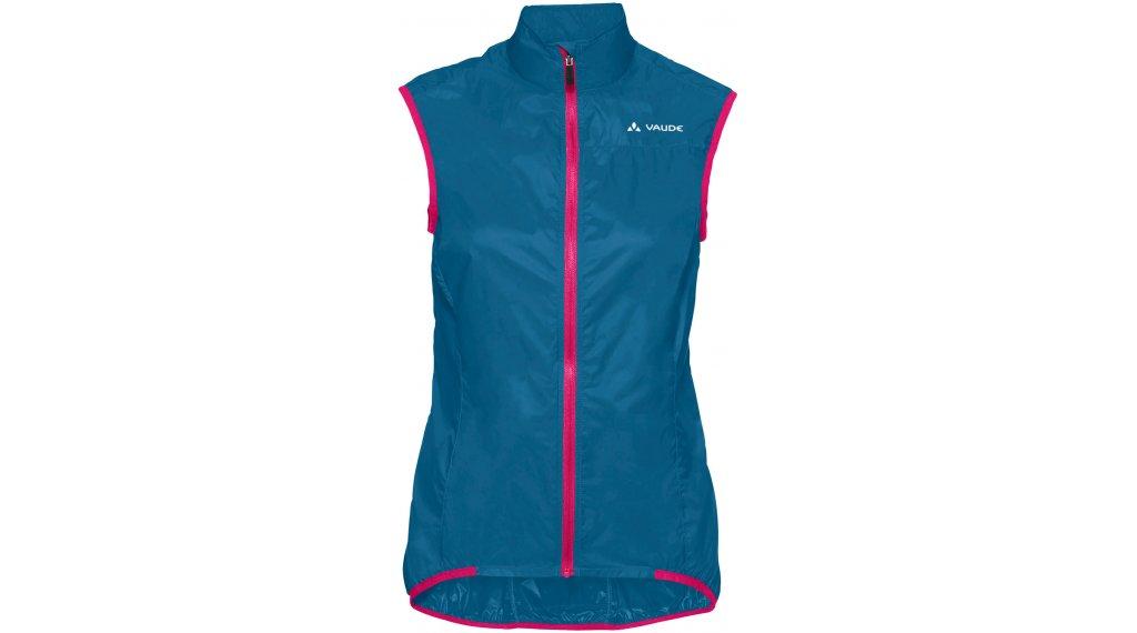 VAUDE Air III vest ladies size 38 kingfisher/pink