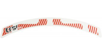 e*thirteen TRS Race carbone 29 roue Decal set rouge