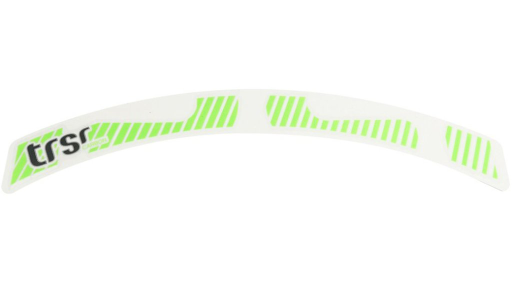 "e*thirteen TRS Race 29"" Carbon Laufrad Decal Set neon green"