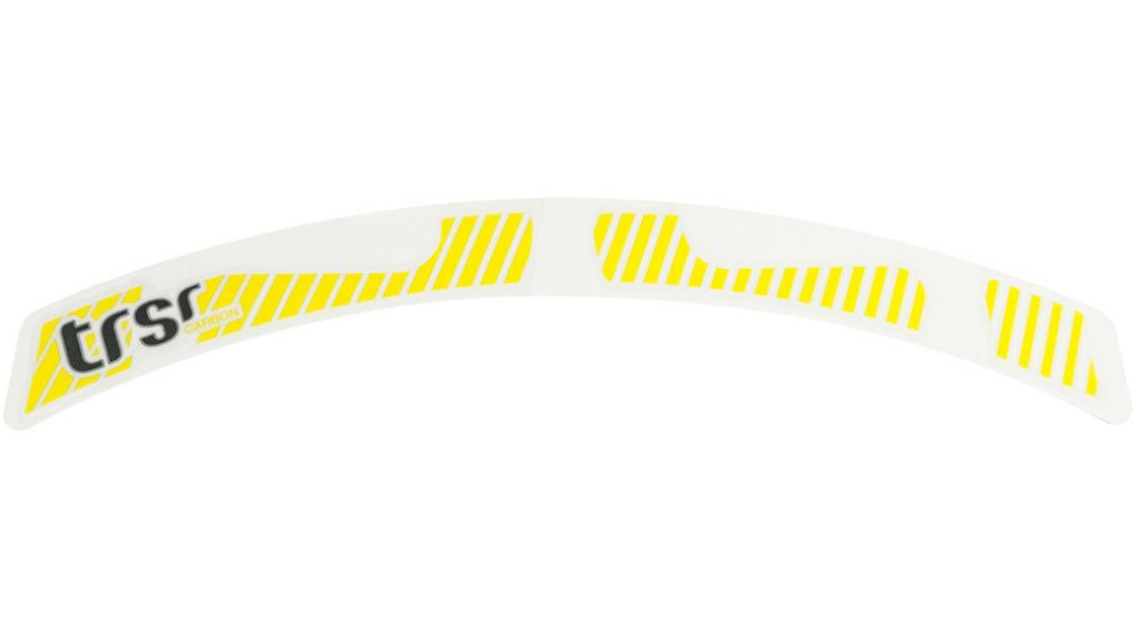 "e*thirteen TRS Race 29"" Carbon Laufrad Decal Set yellow"