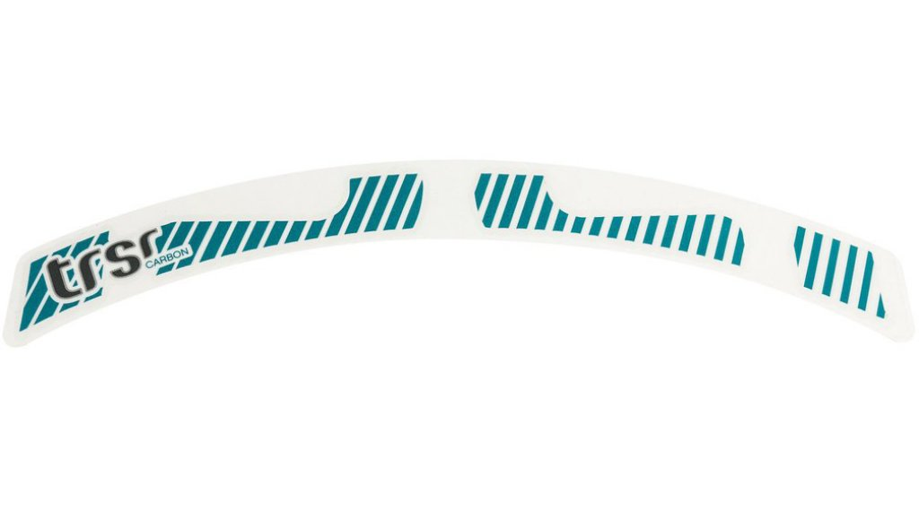 "e*thirteen TRS Race 27.5"" Carbon Laufrad Decal Set turquoise"