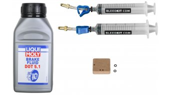 Bleed kit Standard Plus+ kit spurgo Avid & Formula incl. Liqui Moly DOT 250ml