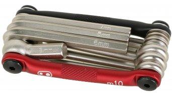 CrankBrothers Multi 10 Multitool Werkzeug black/red