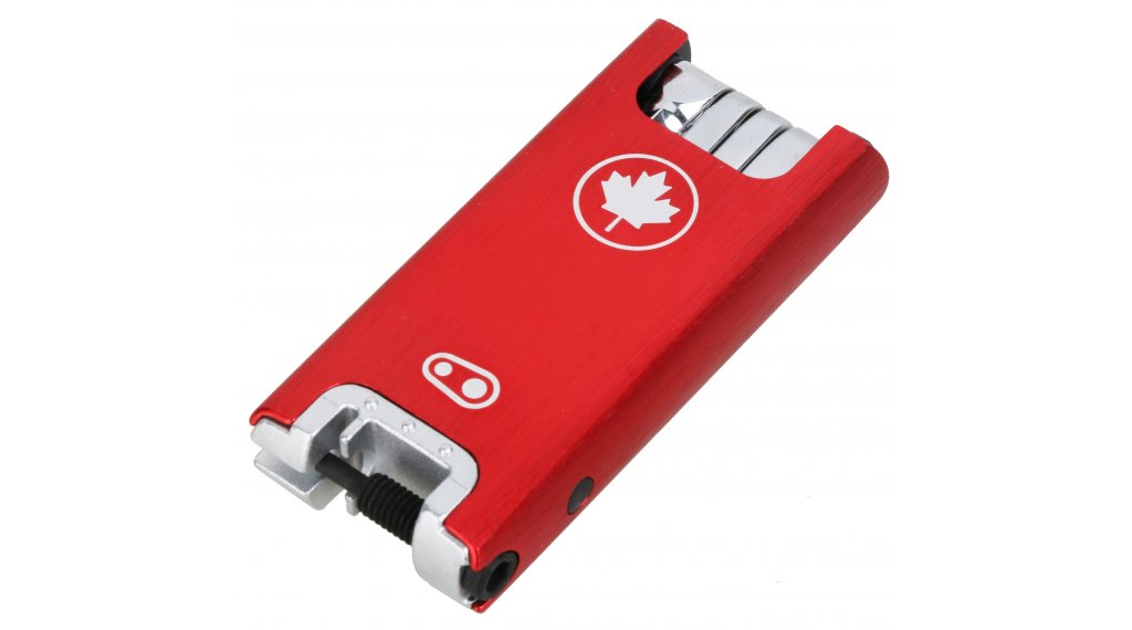 CrankBrothers F15 Multitool 工具 Canada Edition red/silver