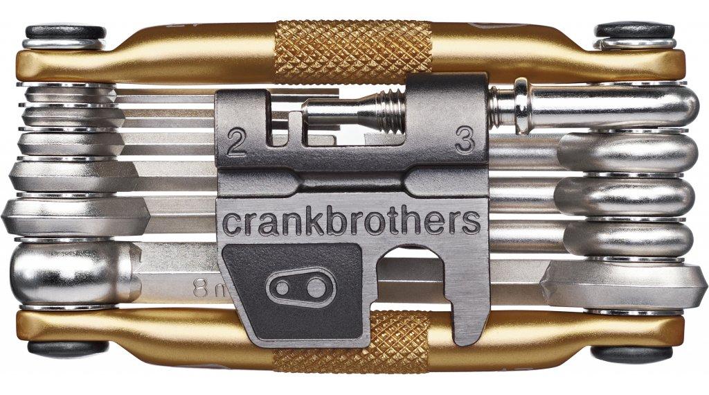 CrankBrothers multi 17 Multitool tool gold