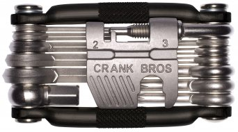 CrankBrothers multi 19 Multitool attrezzo black incl. Tool Case