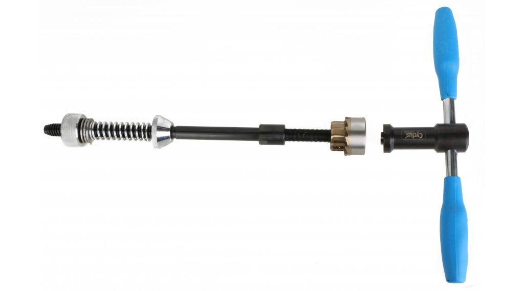 Cyclus Tools Fräswerkzeug mit Fräser 1 1/8 (34mm) für Steuerrohr