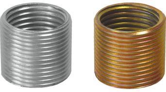 Cyclus Tools Gewindebuchse LH + RH für Pedalauge von Kurbel Rech-/Linksgewinde
