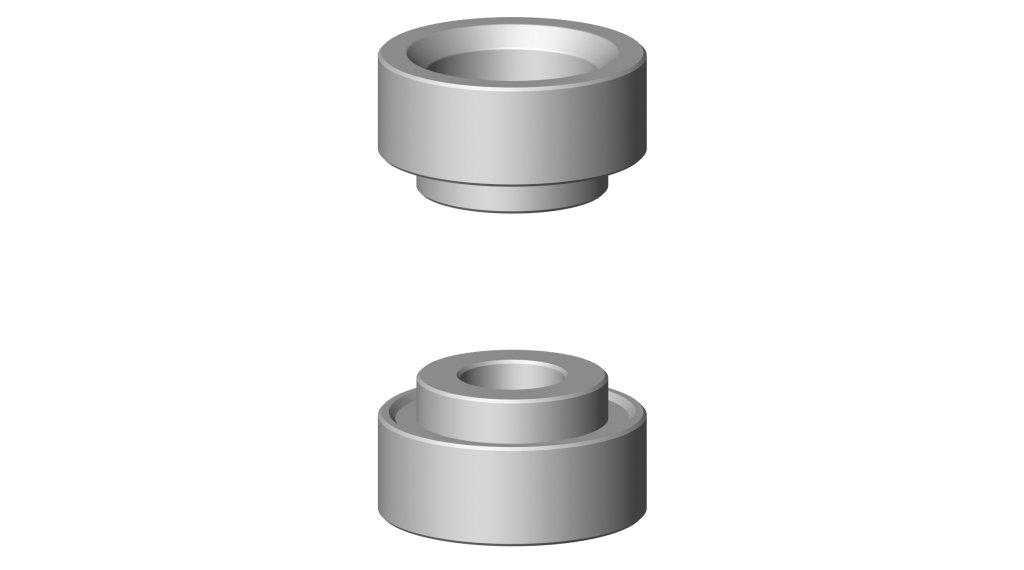 Cyclus Tools Pressringsatz 适用于 压入工具 G2 FSA, SRAM BB30