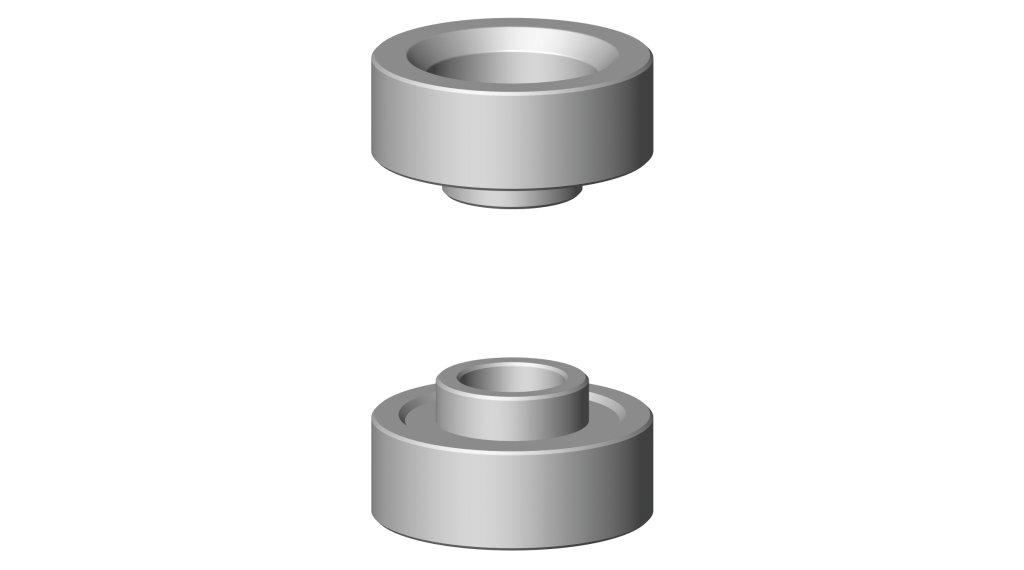 Cyclus Tools Pressringsatz 适用于 压入工具 G2 SRAM, Truvativ, GXP