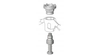 Cyclus Tools snap.in Montagewerkzeug für Verschlussmutter