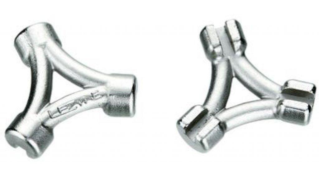 Lezyne Speichenschlüssel 3-fach silber