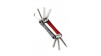 Lezyne V07 multi-Tool rosso/nero