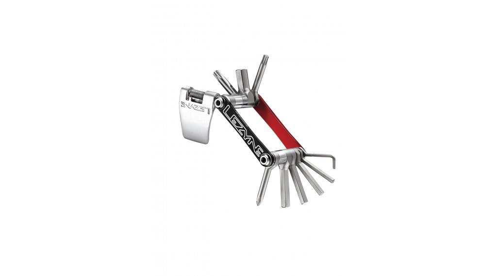 Lezyne V10 multi-Tool red/black