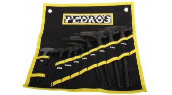 Pedros Pro T/L hex wrench- set 9 pcs