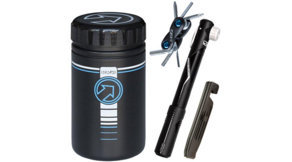 PRO Combipack aus Werkzeugdose, Pumpe, Tool und Reifenheber