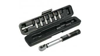 PRO Drehmomentschlüssel 3-15Nm inkl. Bitsatz black/silver