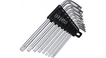 PRO Innenvielzahnschlüssel Set T10/T15/T20/T25/T30/T40/T45/T50 black