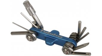 Park Tool IB-2 Beam Mini-herramienta plegable HIBIKE Edition, hembra hexagonal: 1.5,2,2.5,3,4,5,6,8mm+T25 Torx