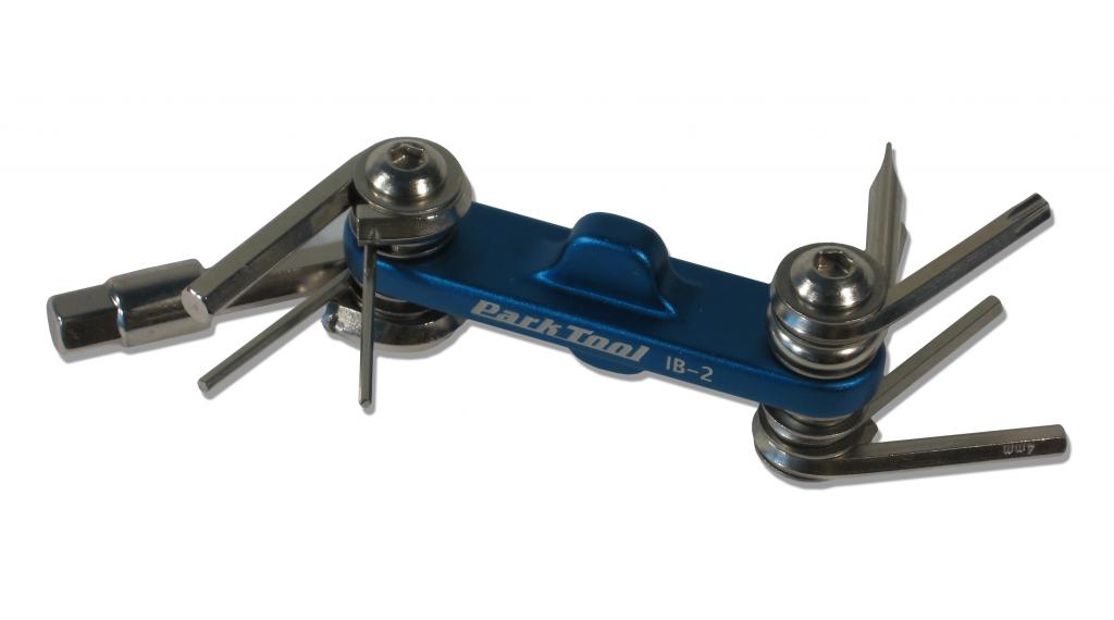 Park Tool IB-2 Beam Mini-Falt chiave a cono brugola : 1.5,2,2.5,3,4,5,6,8mm+T25 torx
