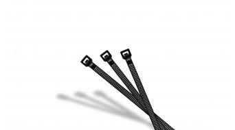 Riesel Design open:tie Kabelbinder black (25 Stück)