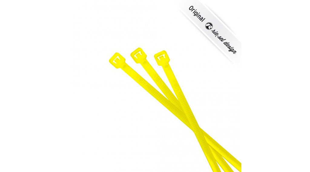 Riesel design cable:tie cable tie neon yellow (25 pcs.)