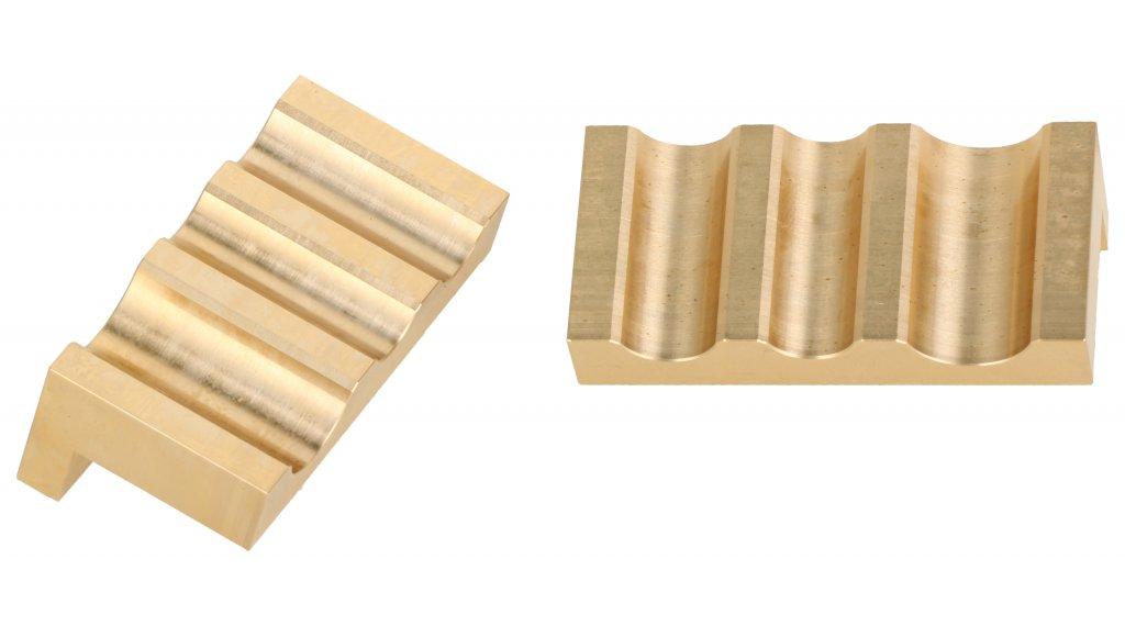 RockShox Dämpfer Spezialwerkzeug Vise Blocks Schraubstockschonbacken innerer Kolben 3-Loch Reverb