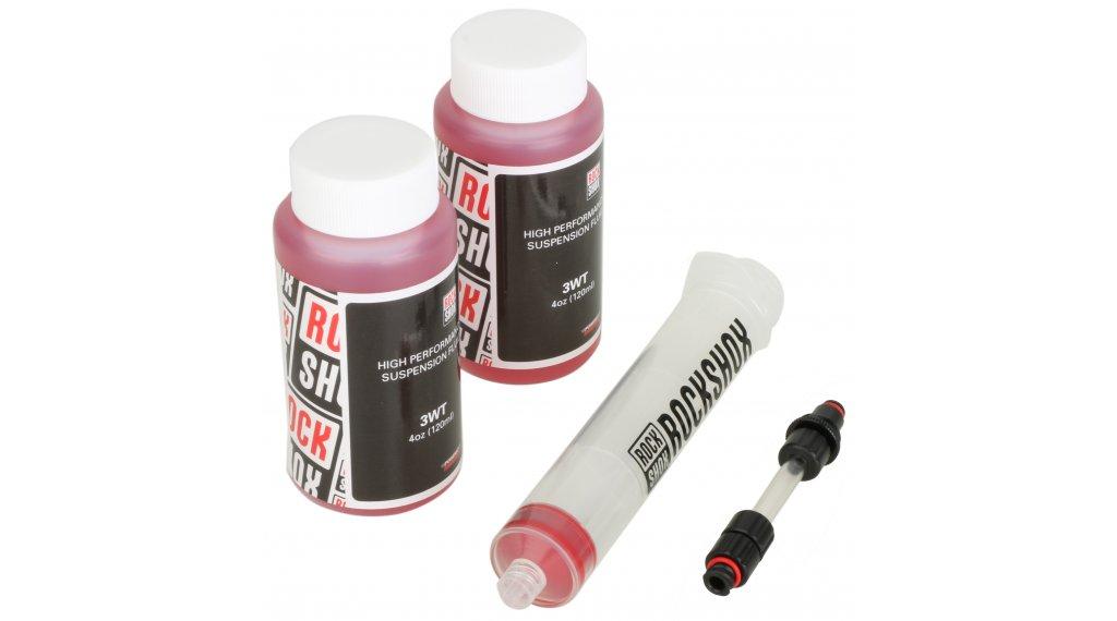 RockShox Entlüftungskit Charger Dämpfer Standard-Kit (Spritze, Anschlüsse, Öl)