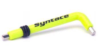 Syntace KEY 5mm Innensechskantschlüssel mit Kunststoffmantel neongelb