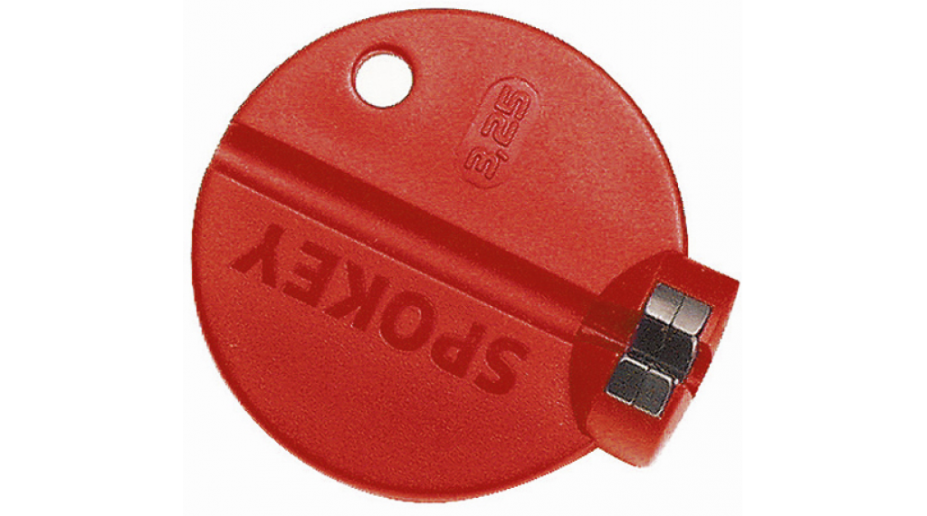 Rixen & Kaul Spokey Professional écroutendeur 3,25mm rouge pour écrou en alu