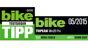 Topeak Mini 20 Pro Multi-Tool silber (20 Funktionen)