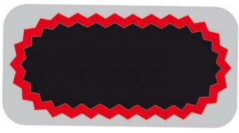 Tip Top tube rustine F2 25x50mm oval (100 pièce(s))