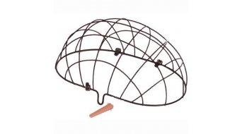 Basil Pluto Drahtgitter für Vorderrad-Tierkorb schwarz