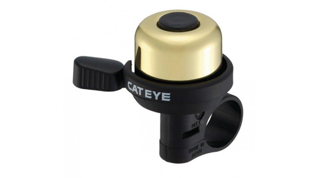 Cat Eye PB-1000 Wind Fahrradklingel gold/schwarz