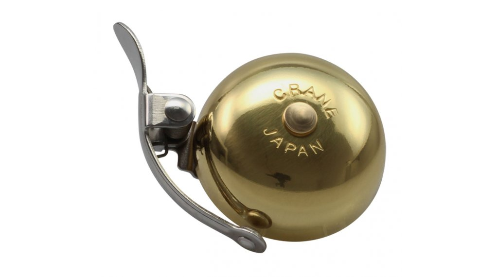 Crane Bell Co Ltd. Mini Suzu Fahrrad-klingel gold