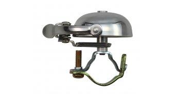Crane Bell Co Ltd. Mini Suzu Fahrrad-klingel polished silver