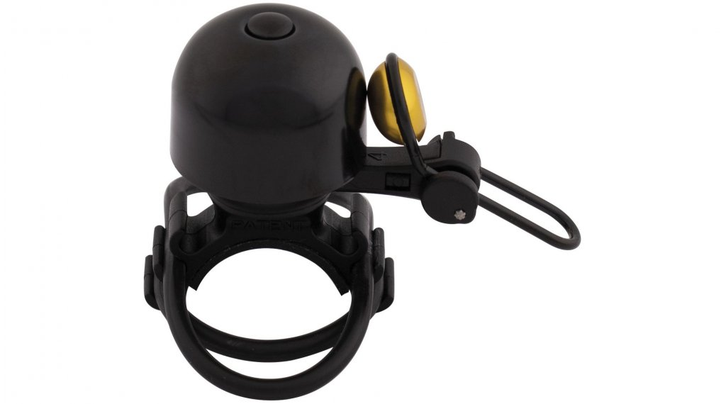 Contec Diamond Bing bike bell black/rgold