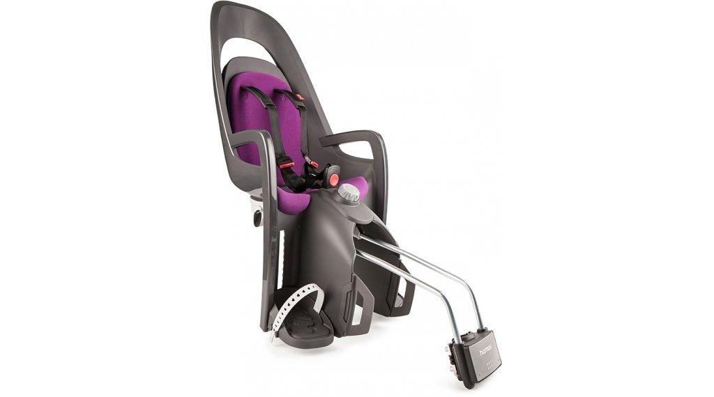 Hamax Caress Kindersitz mit abschließbarer Befestigungshalterung grey/purple