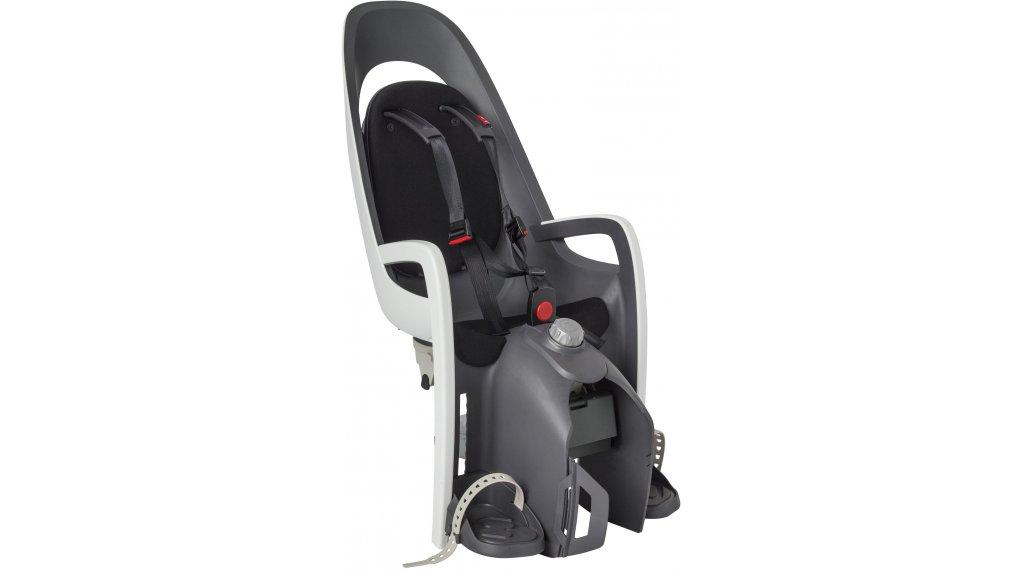 Hamax Caress Kindersitz mit Gepäckträgerhalterung grey/white/black