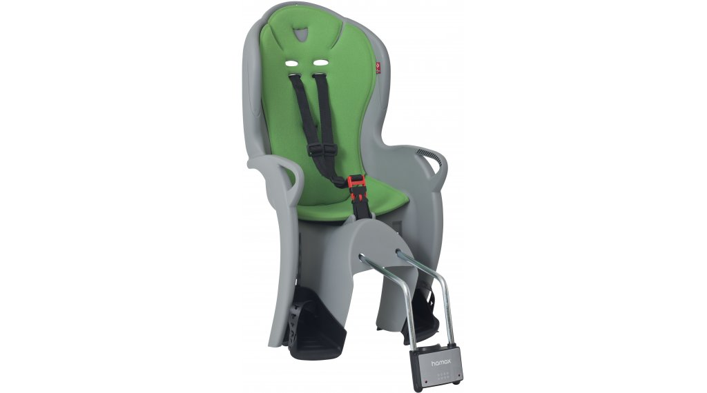 Hamax Kiss Kindersitz medium grey/green